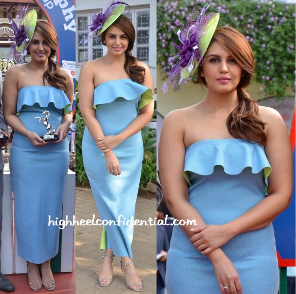 Huma Qureshi In Tanieya Khanuja At Mid Day Race-2