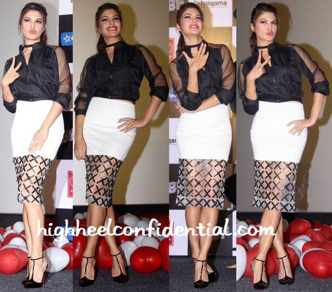 Jacqueline Fernandez At GF BF Song launch-1
