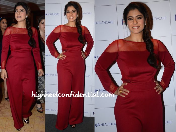 Kajol Wears Swatee Singh To A Breast Cancer Awareness Event-1