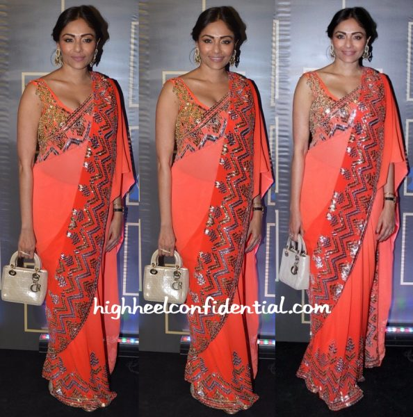 Kalyani Saha In Abu Jani Sandeep Khosla At Harper's Bazaar Bride Anniversary Do