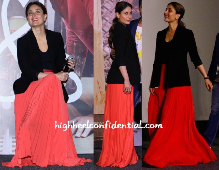 Kareena Kapoor In Christopher Kane At Ki And Ka Trailer Launch-2