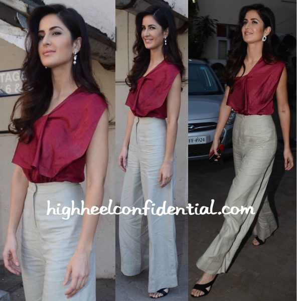 Katrina Kaif In Lola By Suman B At Fitoor Promotions-2