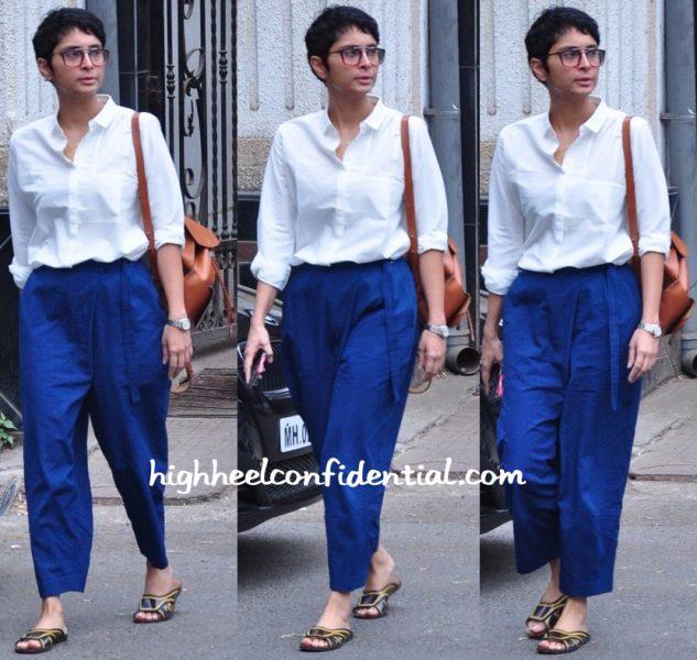 Kiran Rao Photographed Wearing Bodice By Ruchika Sachdeva