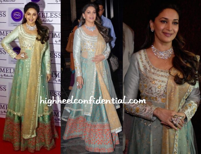 Madhuri Dixit At Timeless By Madhuri For P.N Gadgil Jewellers Launch-1