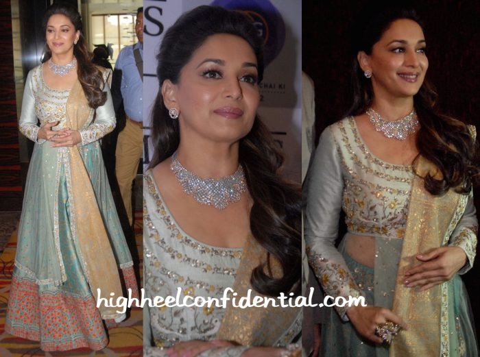 Madhuri Dixit At Timeless By Madhuri For P.N Gadgil Jewellers Launch-2