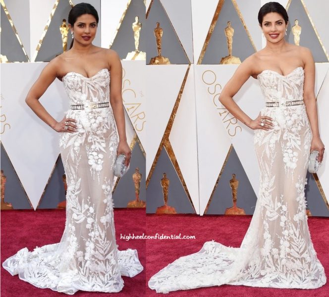 Priyanka Chopra Wears Zuhair Murad To The Academy Awards