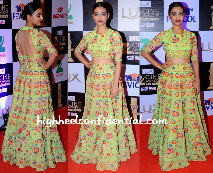 Radhika Apte At Zee Cine Awards 2016-1