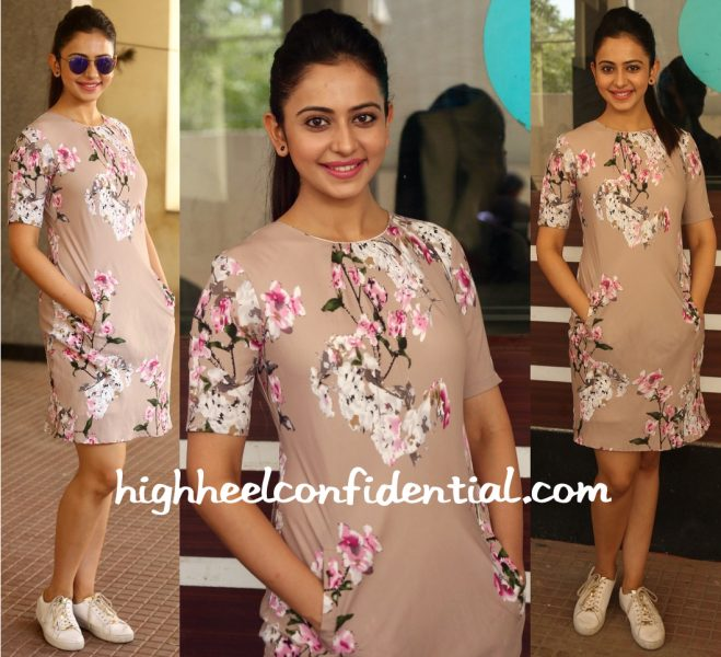 Rakul Preet Singh In Chique At Infinity Ride 2016 Press Meet-1