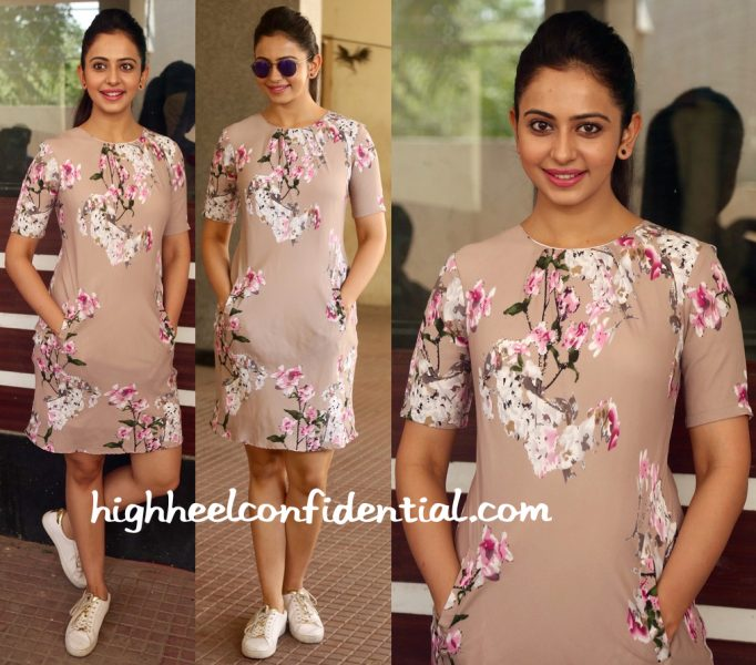 Rakul Preet Singh In Chique At Infinity Ride 2016 Press Meet-2
