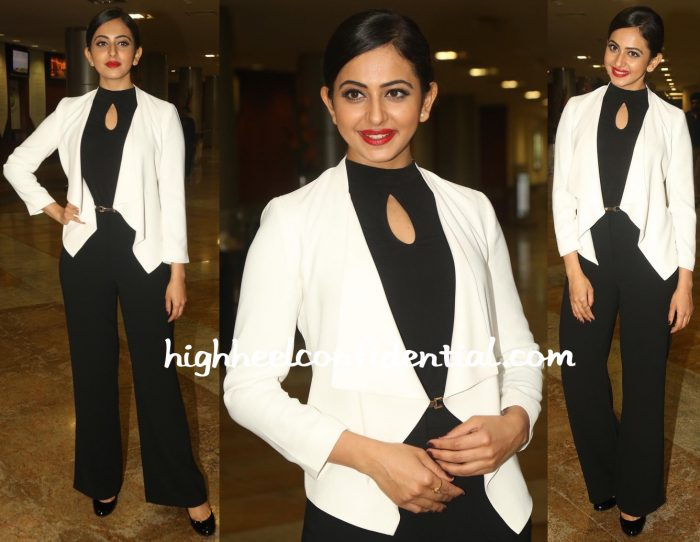 Rakul Preet Singh In Forever New At Apollo Cancer Charity Event