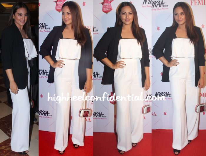 Sonakshi Sinha In Zara At Femina Beauty Awards 2016
