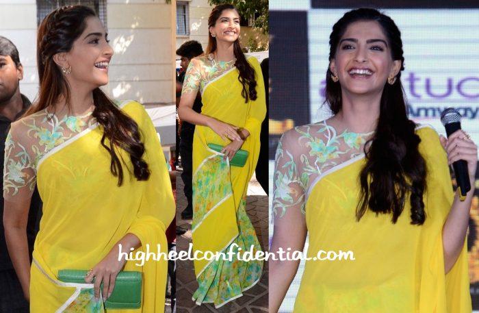 Sonam Kapoor Wears Abu Jani Sandeep Khosla To Neerja Promotions-2