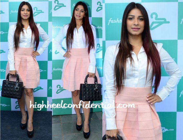 Tanishaa Mukerji In H&M At Fashtag Launch