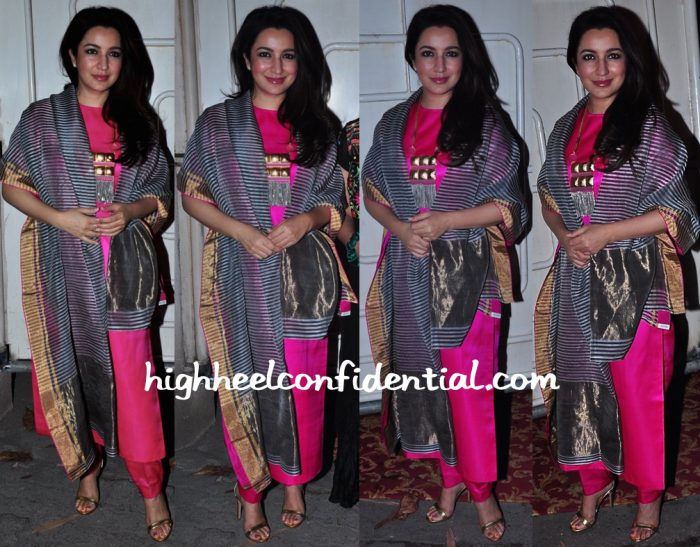 Tisca Chopra At A Movie Screening