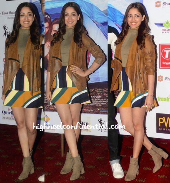 Yami Gautam Wears Zara To Sanam Re Promotions In Delhi-1