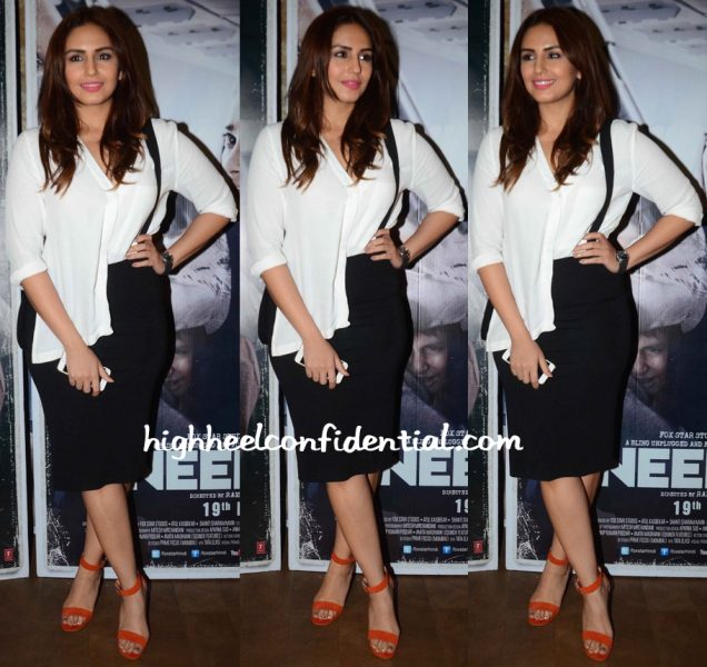 huma qureshi at neerja screening in topshop and hm