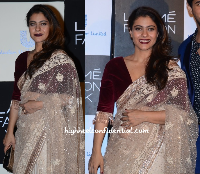 kajol-manish-malhotra-lakme-fashion-week-green-wardrobe-1