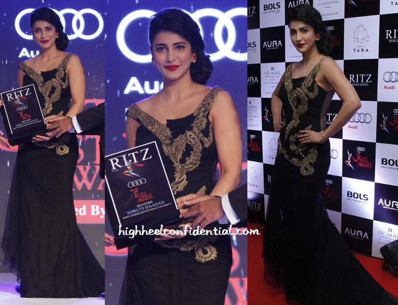 shruti-haasan-sonakshi-raaj-ritz-icon-awards-2016