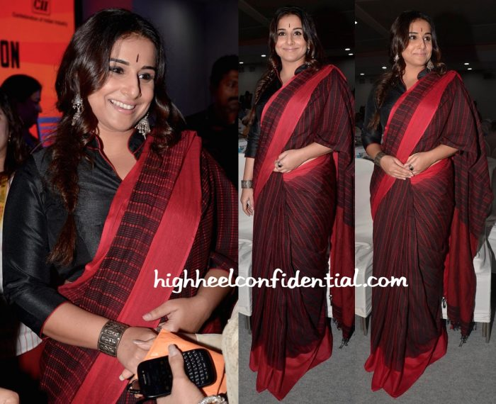 vidya balan-luxury league event
