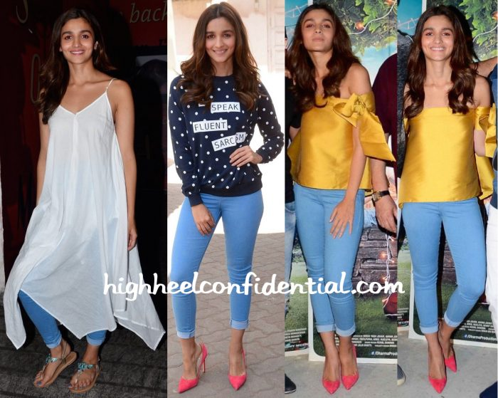 Alia Bhatt At Kapoor And Sons Promotions And Screening-1