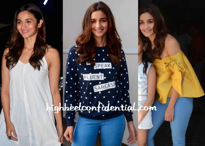 Alia Bhatt At Kapoor And Sons Promotions And Screening-2