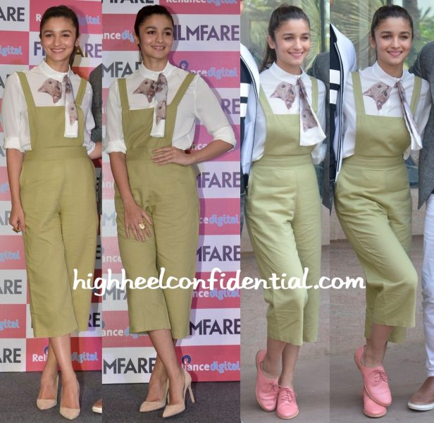 Alia Bhatt In Madison At The Unveiling Of Filmfare's Latest Issue-2