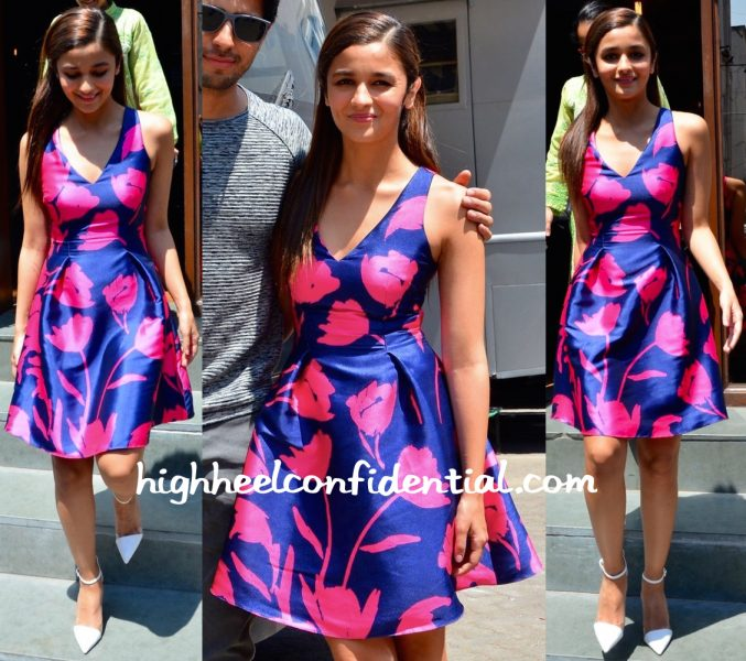 Alia Bhatt In Sachin & Babi At 'Kapoor And Sons' Promotions-2