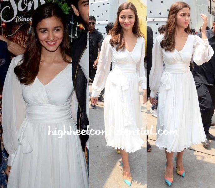Alia Bhatt In Swapnil Shinde At 'Kapoor And Sons' Success Meet-1