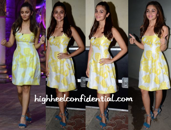 Alia Bhatt Promotes Kapoor & Sons On Comedy Nights Bachao Sets-2