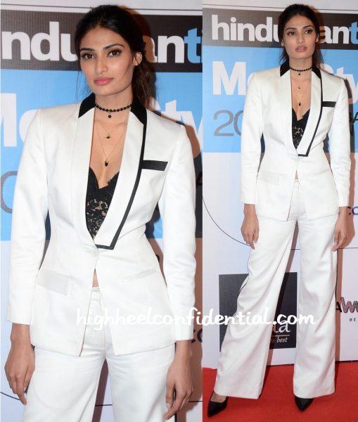 Athiya Shetty In Kanika Goyal At HT Most Stylish Mumbai 2016-1