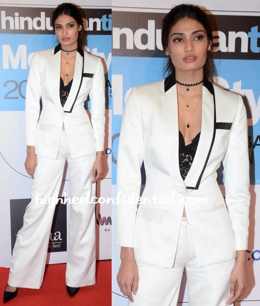 Athiya Shetty In Kanika Goyal At HT Most Stylish Mumbai 2016-2