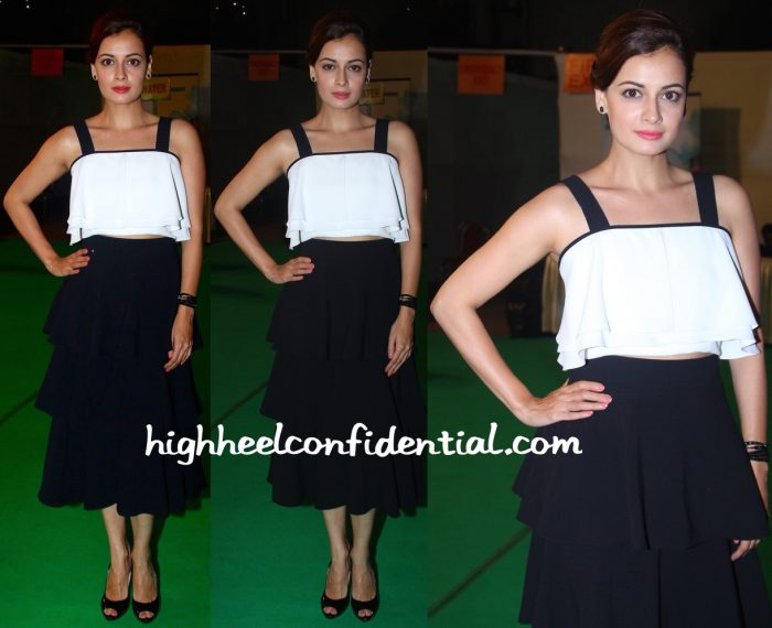 Dia Mirza At Olive Crown Awards