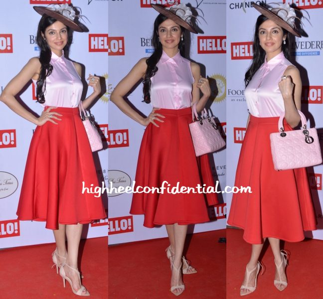Divya Khosla Kumar In Land Of August At Hello Cup 2016-2