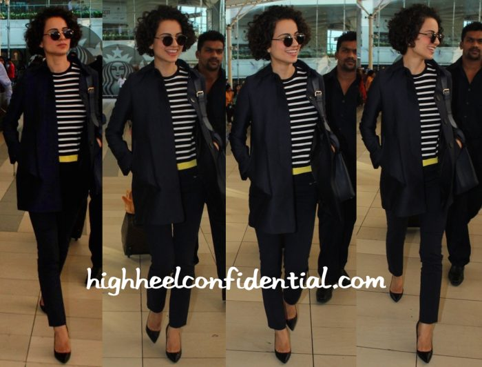 Kangana Ranaut Photographed At Mumbai Airport-2