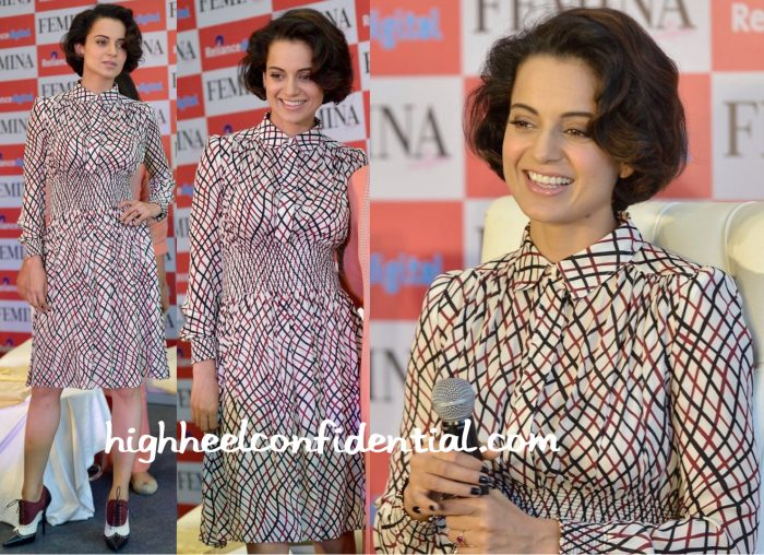 Kangana Ranaut Wears Gucci To Femina's Latest Issue Launch:Unveiling-1