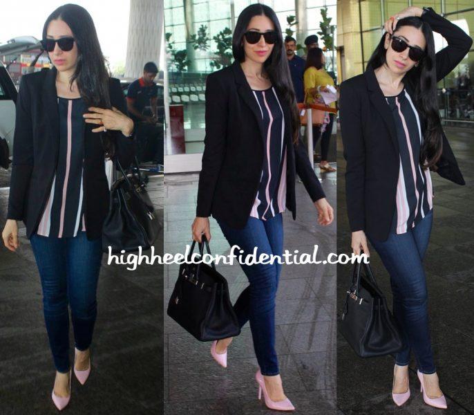 Karisma Kapoor Photographed At Mumbai Airport