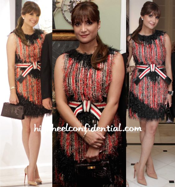 Michelle Poonawala In Fendi At Jehangir Vazifdar Book Launch And Art Event-1
