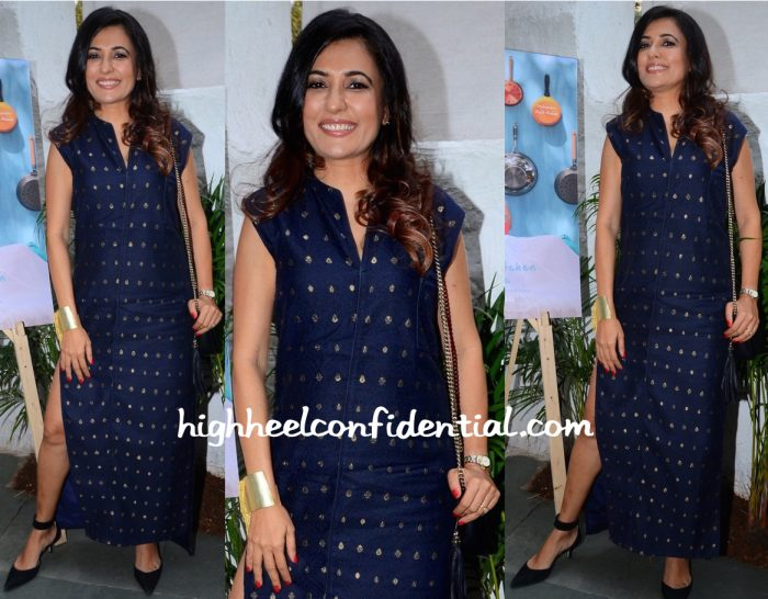 Mini Mathur In Bungalow 8 At Maria Goretti's Book Launch