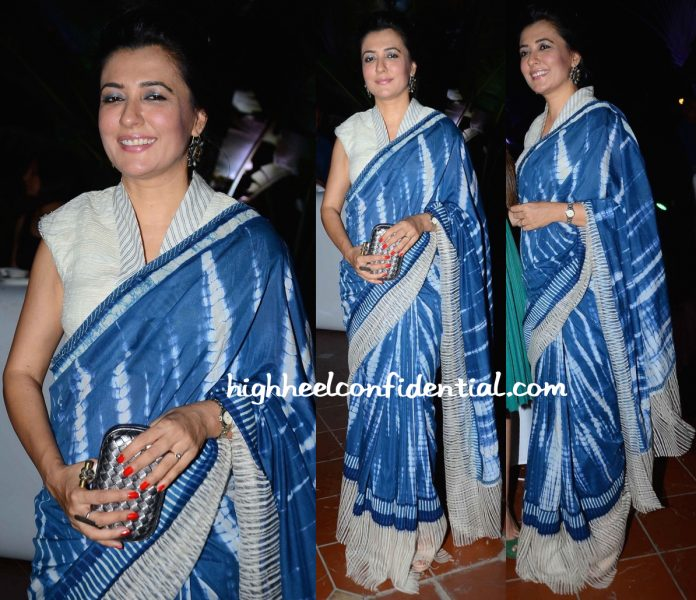 Mini Mathur In Urvashi Kaur At AsiaSpa Awards 2016