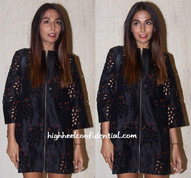 Monica Dogra In Urvashi Joneja At Manish Malhotra's Dinner Party-2