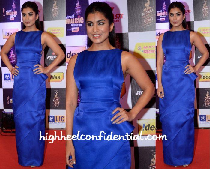 Pallavi Sharda In Vizyon At Mirchi Music Awards 2016