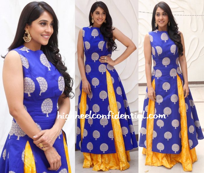 Regina Cassandra In Myrah At Shaurya Promotions-2
