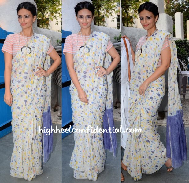 Roshni Chopra Wears Anavila To Maria Goretti's Book Launch