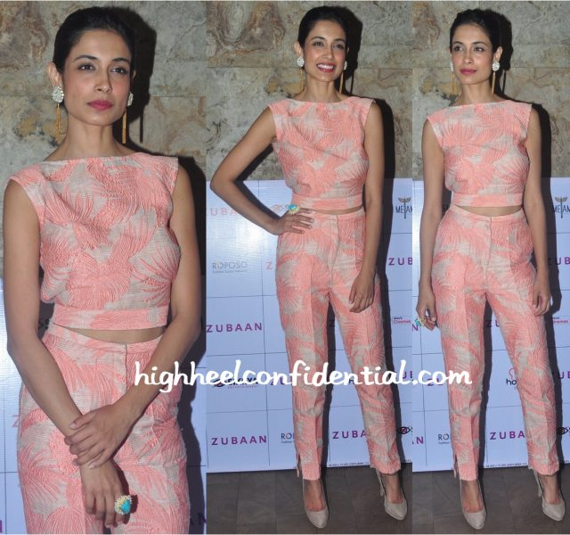 Sarah Jane Dias Wears Endemage To Zubaan Screening-2
