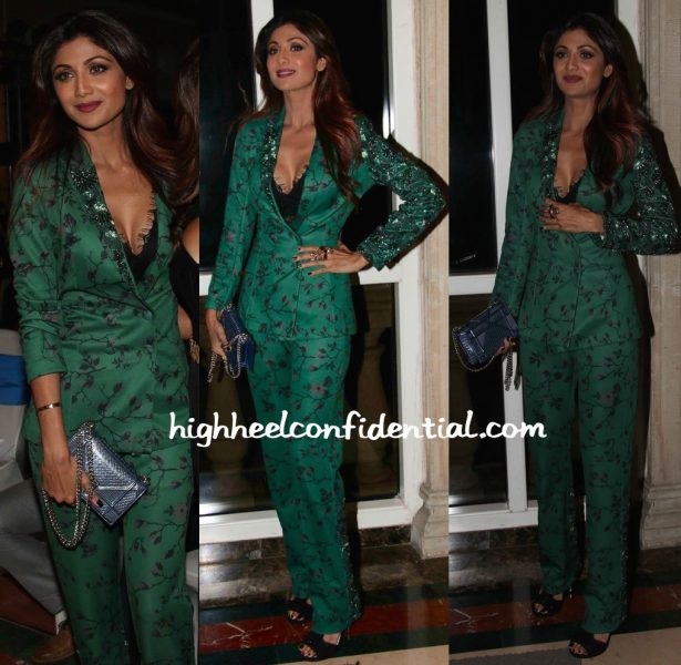Shilpa Shetty In Namrata Joshipura At AsiaSpa Awards 2016