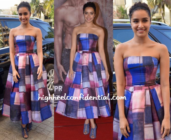 Shraddha Kapoor In Aiisha Ramadan At Baaghi Trailer Launch-1