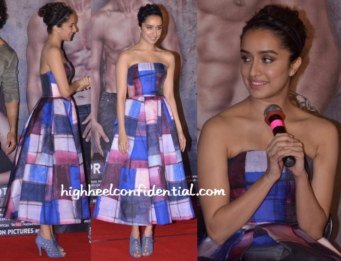 Shraddha Kapoor In Aiisha Ramadan At Baaghi Trailer Launch-2