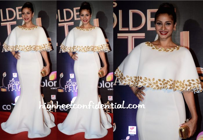 Tanishaa Mukerji In Mayyur Girotra At Golden Petals Awards 2016
