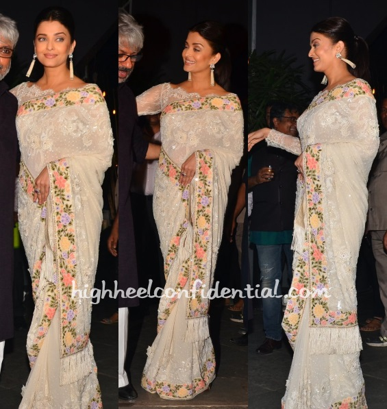 aishwarya-rai-manish-malhotra-sanjay-bhansali-national-award-party