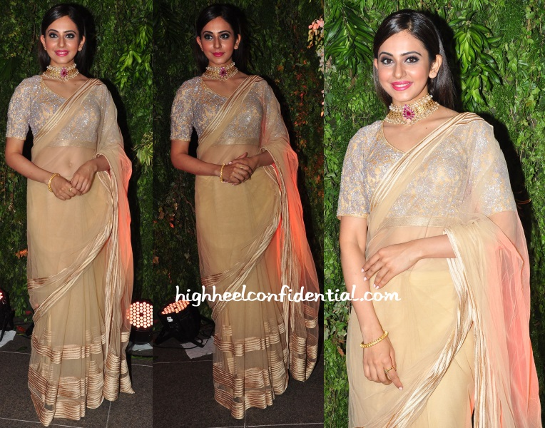 rakul-preet-shantanu-nikhil-sreeja-wedding-reception